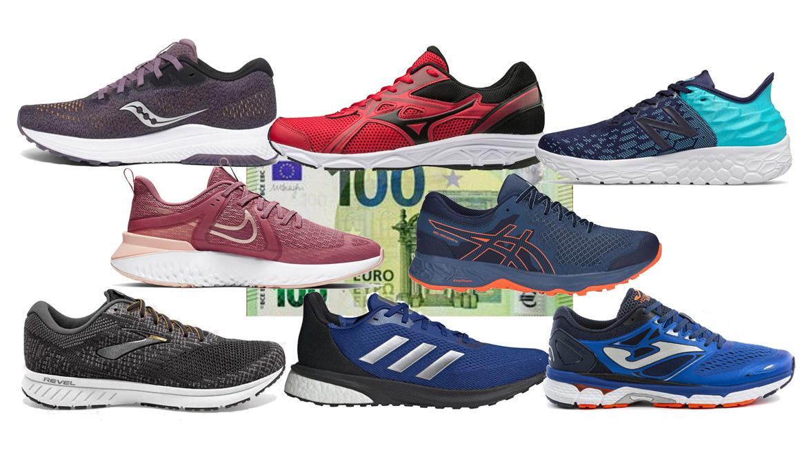 Las mejores zapatillas de correr por menos de 100 euros