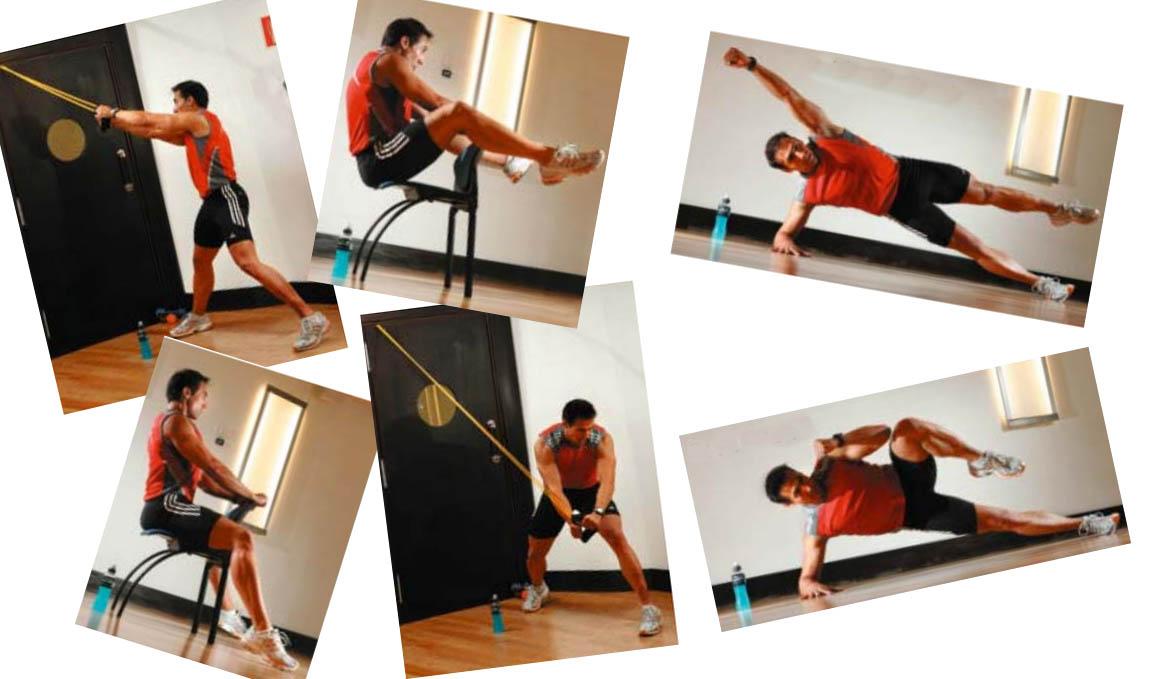 Los ejercicios de auto entrenamiento para el tronco