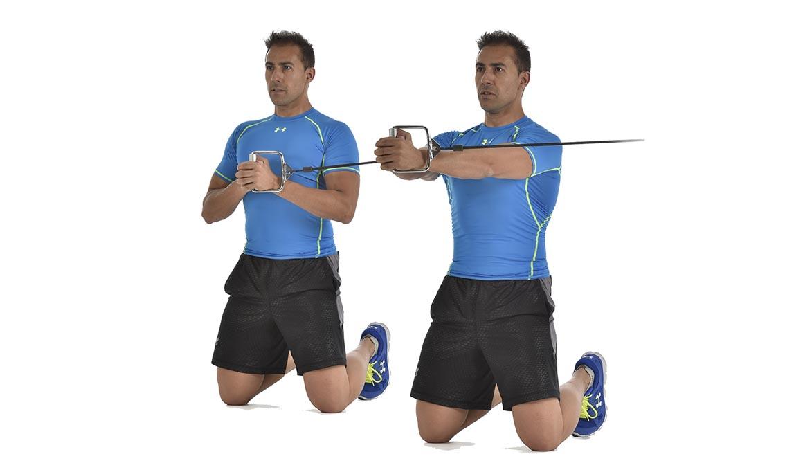 Press Pallof, el mejor ejercicio para tu abdomen y core