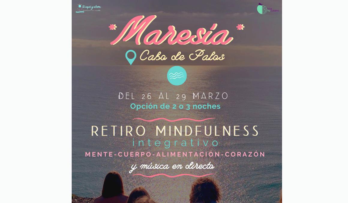 Retiro Maresia Mindfulness Integrativo en Cabo de Palos