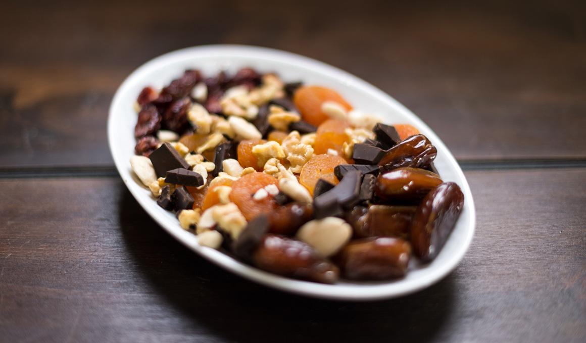 7 snacks veganos para deportistas