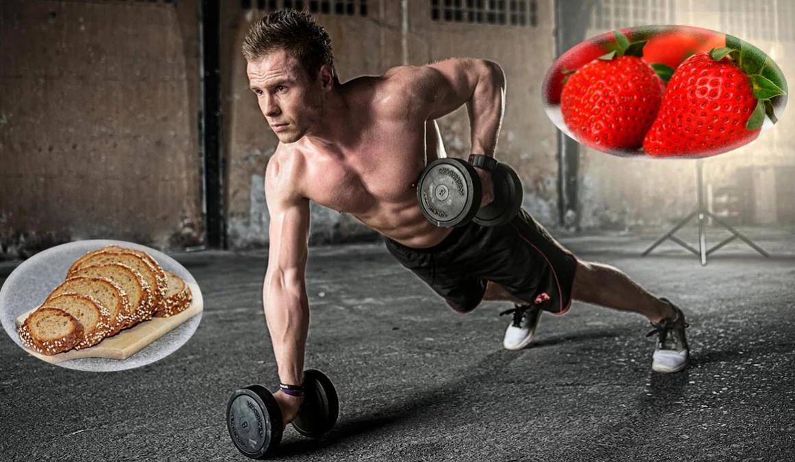 Qué comer antes, durante y después de entrenar