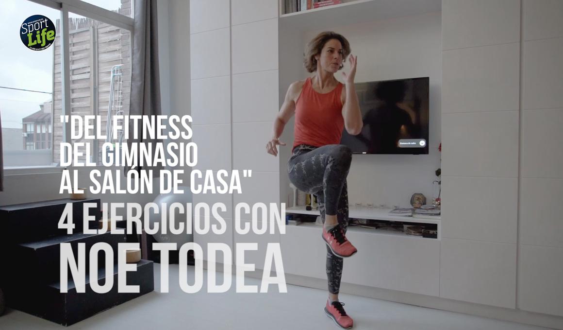 Fitness en casa con Noe Todea, segundo vídeo de ejercicios de core y tren superior