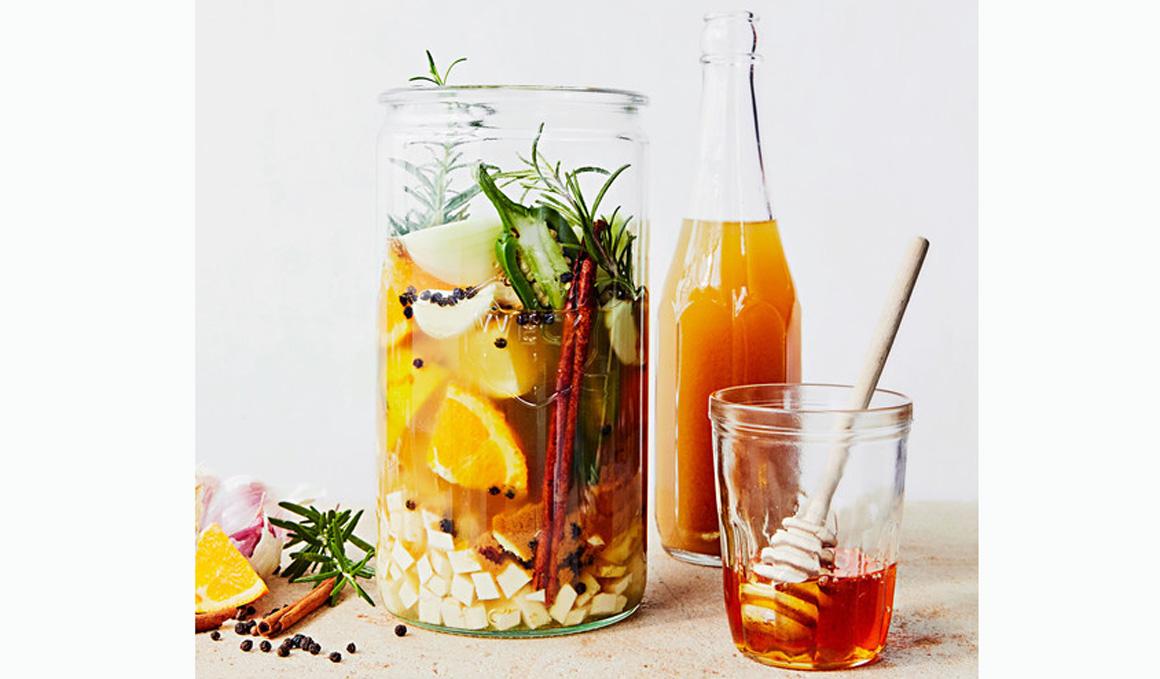 Fire Cider, la receta de la medicina ayurvédica para la gripe y catarros