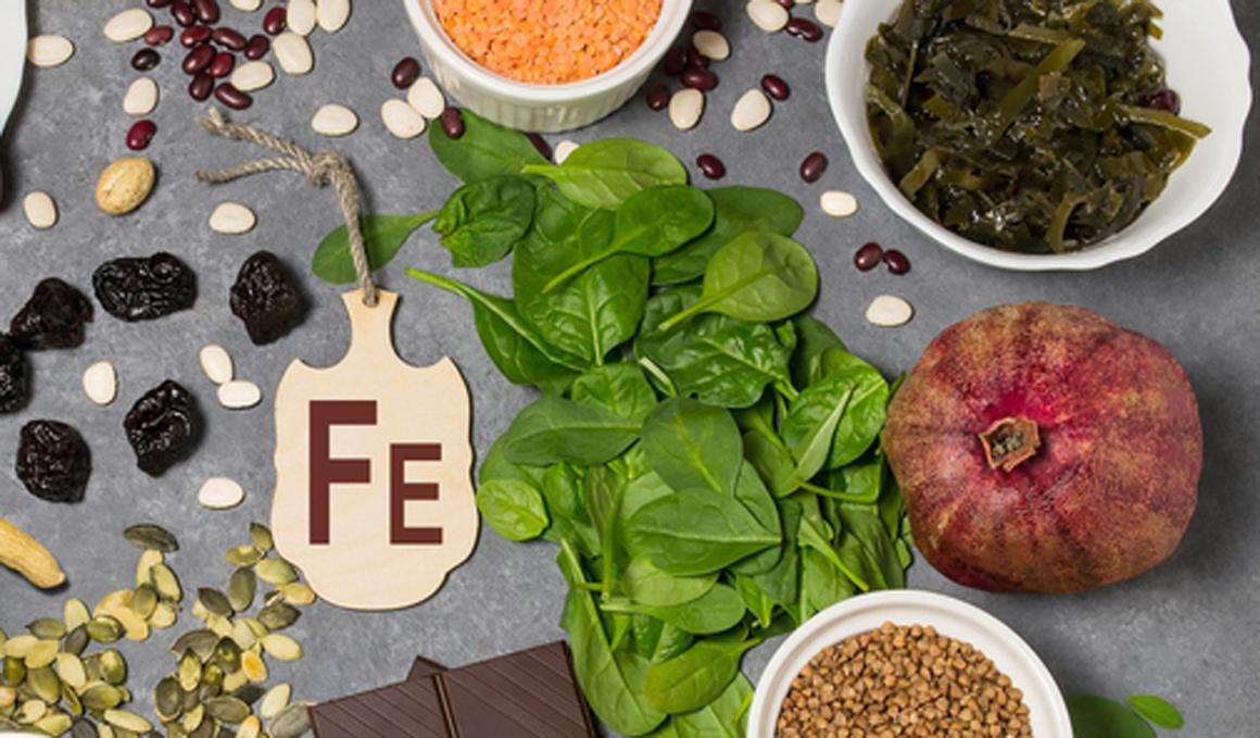 El hierro en la alimentación vegetariana y vegana deportiva