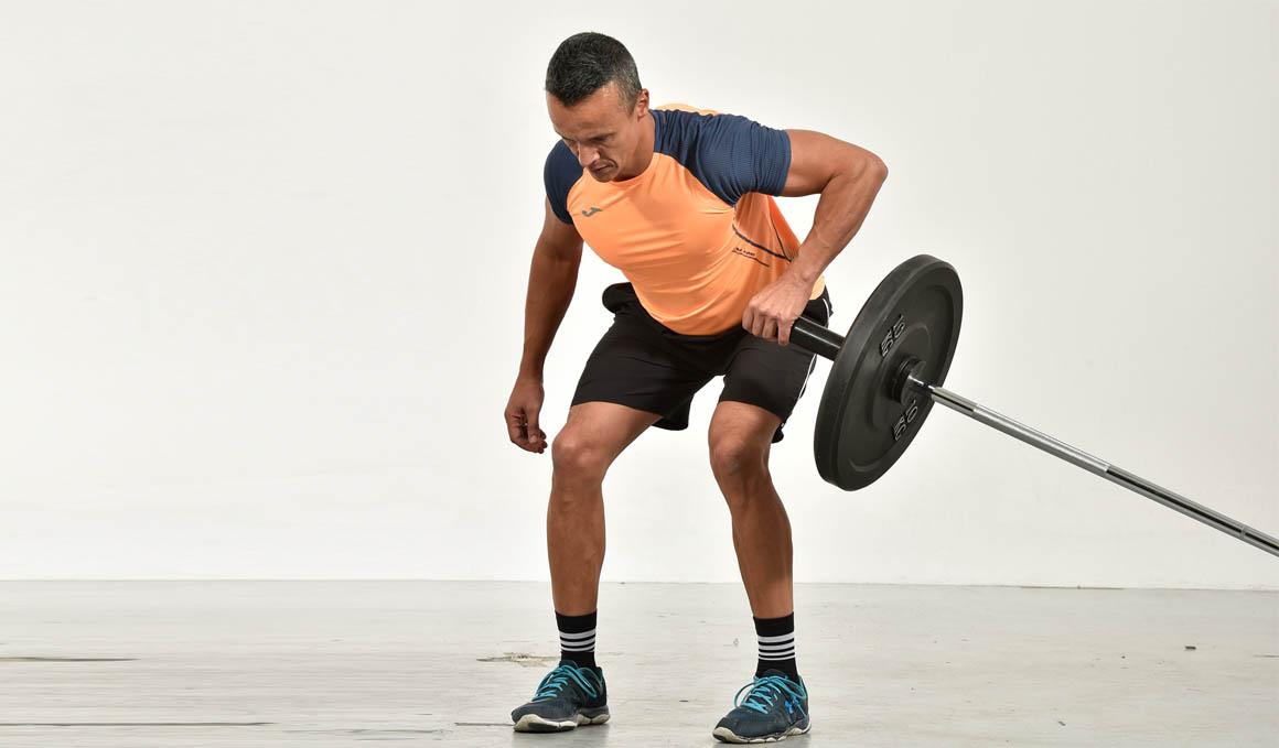 Fuerza y músculo con Landmine