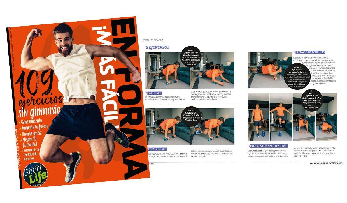 """Descarga GRATIS el libro """"En forma más fácil: 109 ejercicios sin gimnasio"""""""