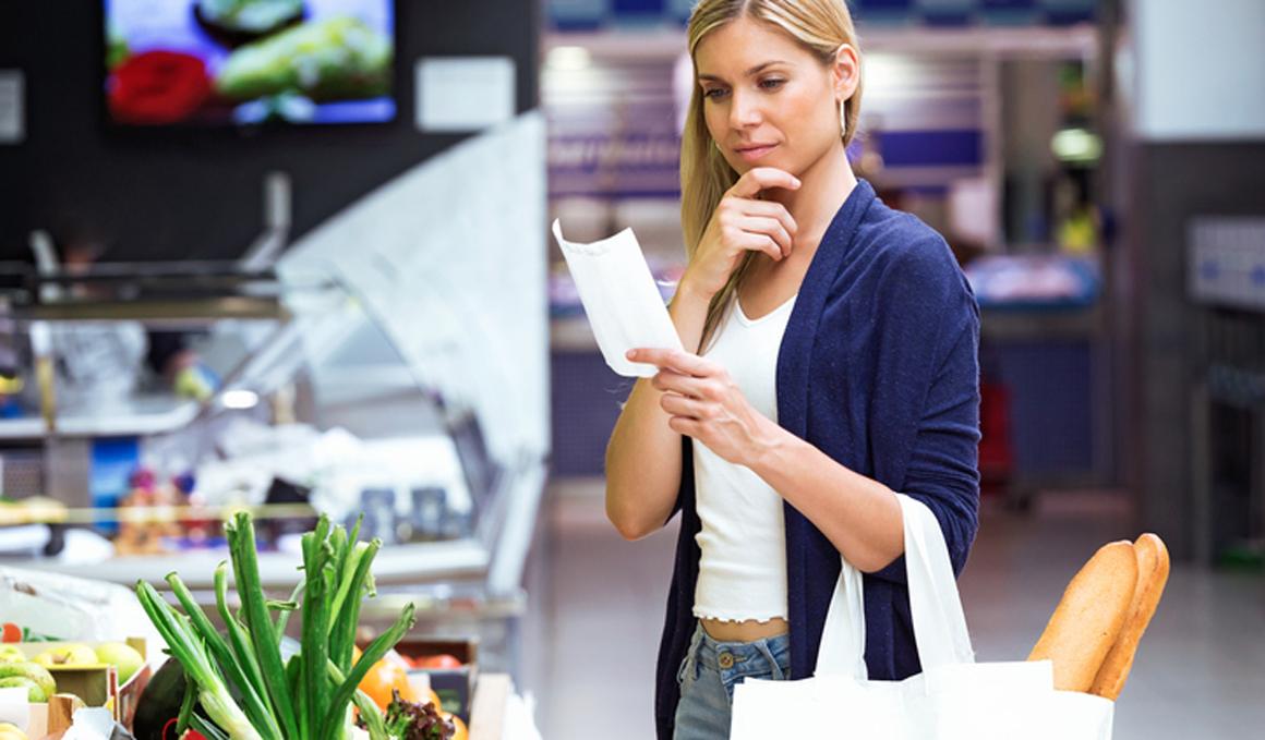 La lista de la compra para comer sano en casa durante el coronavirus