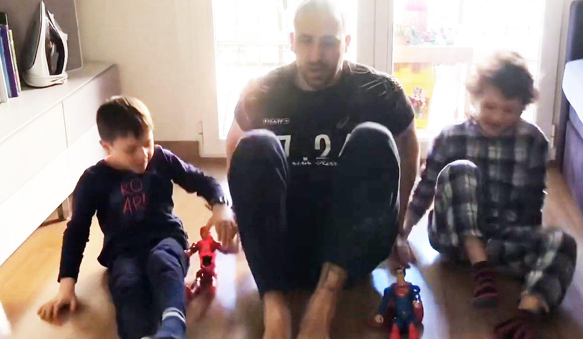 El entrenamiento más original para divertir y activar a tus hijos