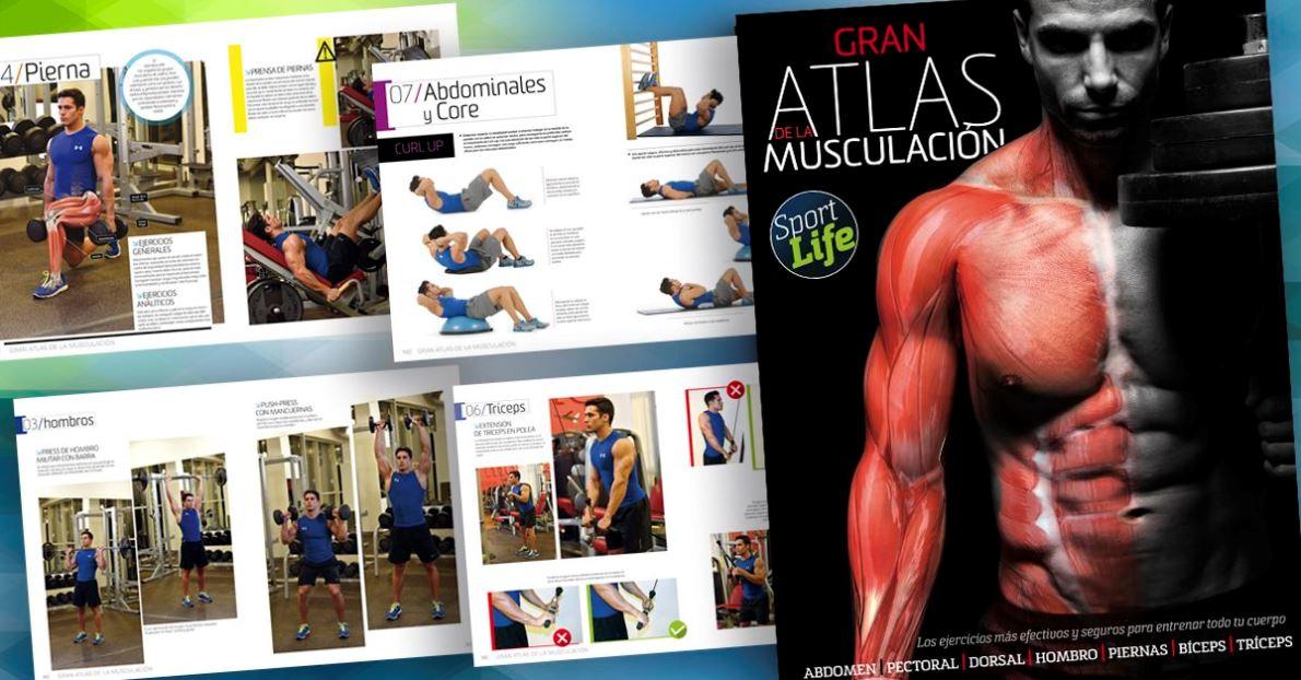 ¡Consigue tu Atlas de Musculación!