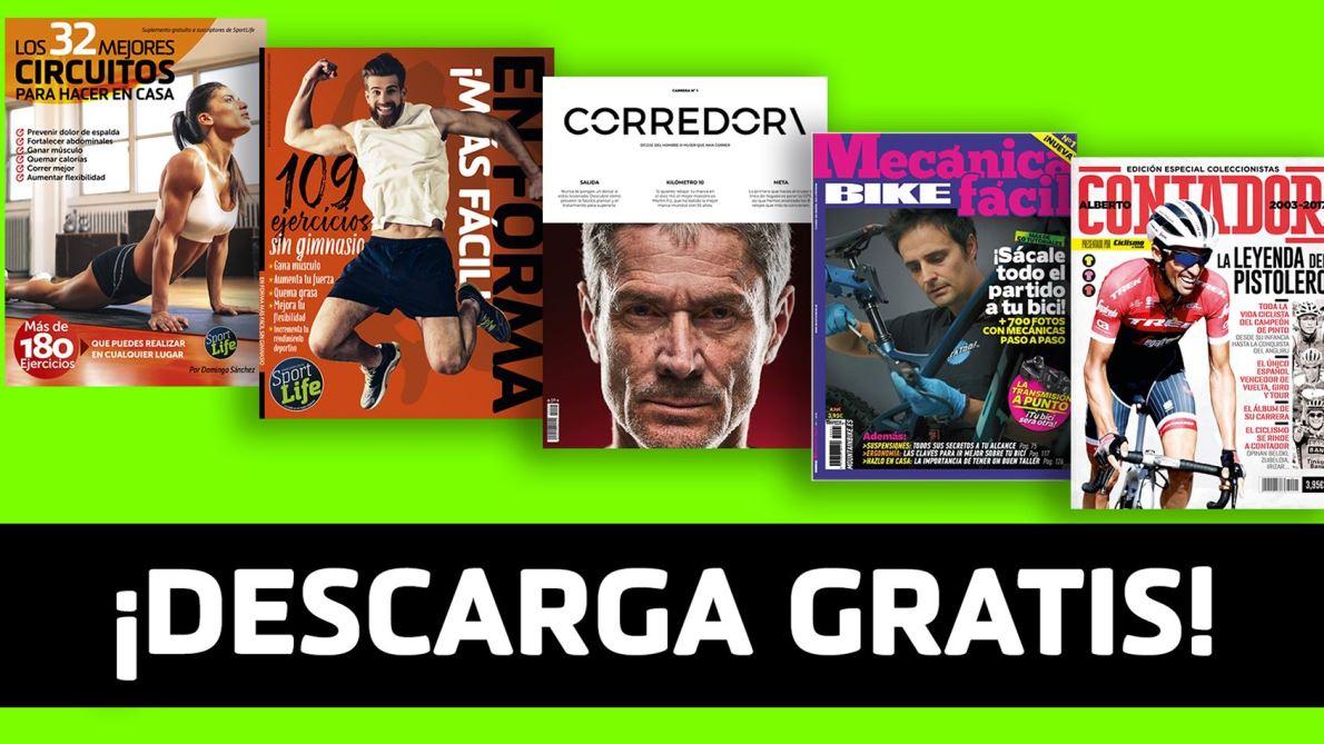 Todos los libros y guías de deporte y fitness que puedes descargar GRATIS