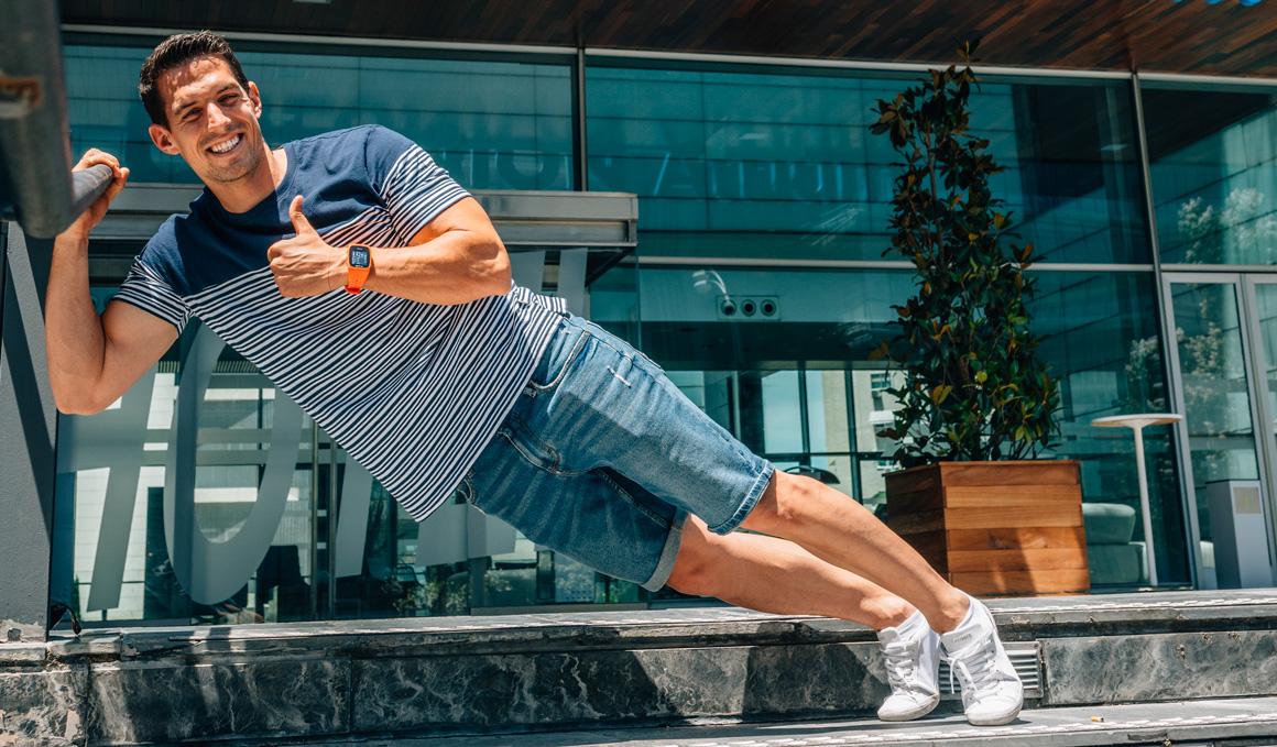Raúl Notario te explica cómo seguir en forma en cuarentena