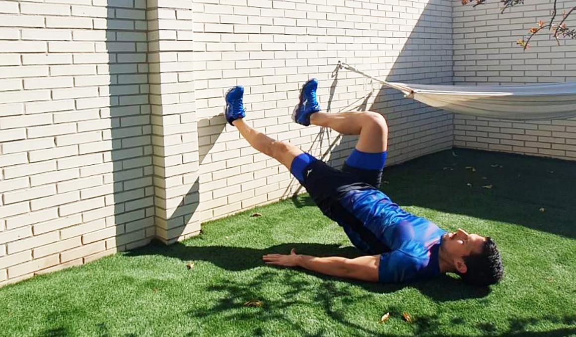 Yo entreno en casa / Día 15: ejercicios en pared avanzados