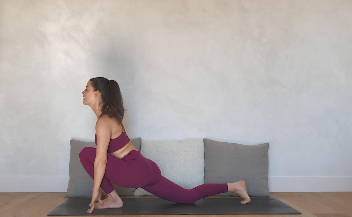 La sesión de Yoga con Cristina Madrid y Oysho
