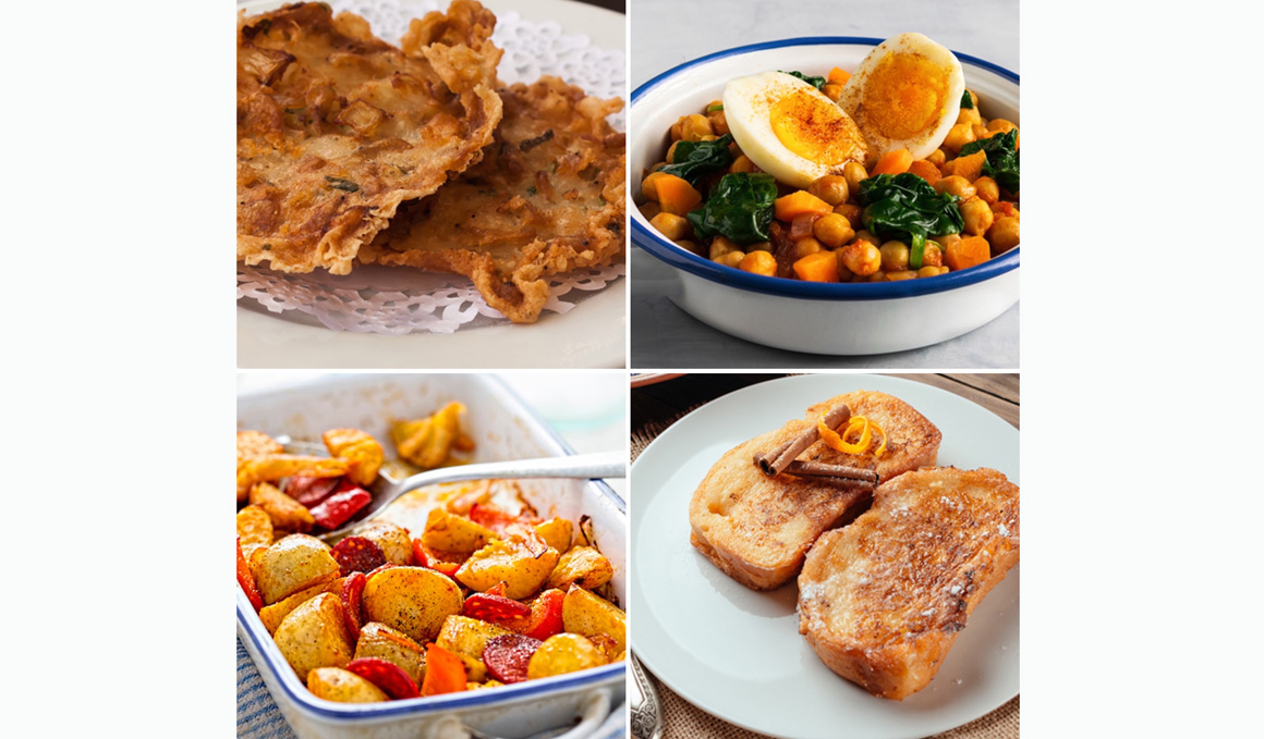 4 Recetas típicas de Semana Santa en versión fitness, más ligeras y saludables