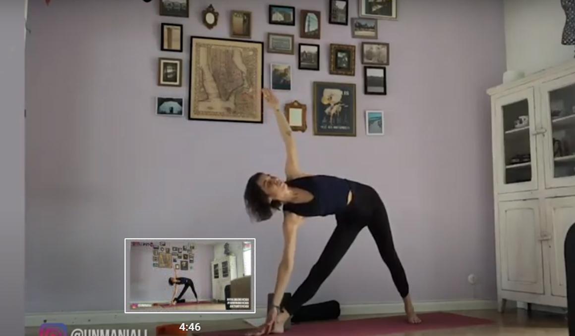 Secuencia de Yoga para hacer antes del teletrabajo con vídeo