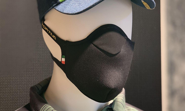 La Sportiva presenta su mascarilla para hacer deporte