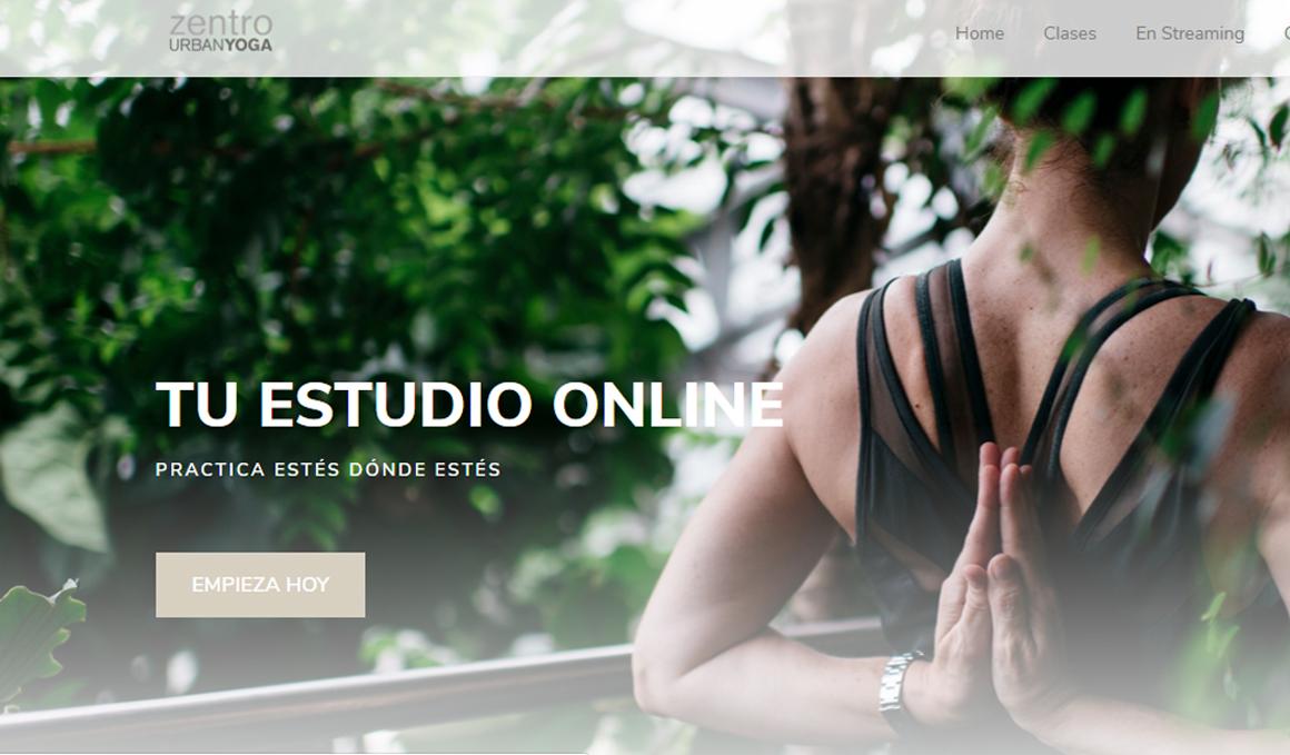 Nace ZUYONLINE, el estudio de Yoga Virtual de Zentro Urban Yoga
