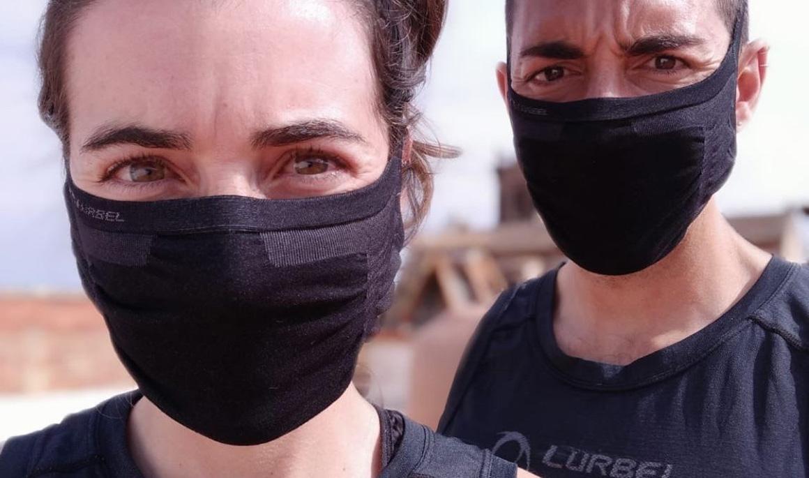La mascarilla para deportistas fabricada en España por Lurbel