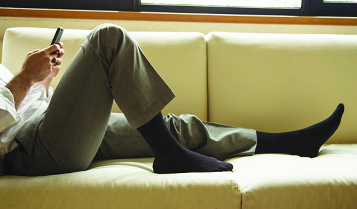 Los calcetines que te activan aunque estés quieto