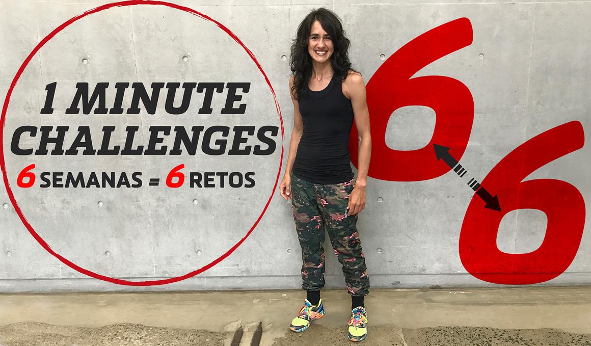 Aquí está el 3º reto de la serie '1 minute challenge' de Raquel Holgado