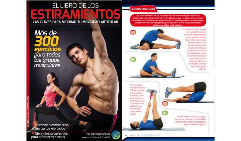 """Consigue gratis el libro de """"Estiramientos"""" con más de 300 ejercicios"""
