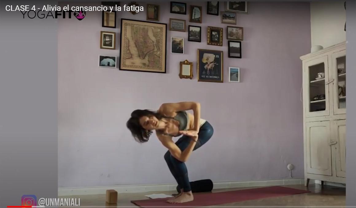 Evita los efectos del sedentarismo con este vídeo de yoga