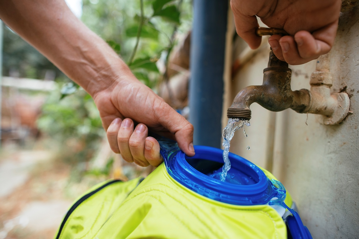 Cómo tener tu mochila de hidratación libre de gérmenes, bacterías y virus