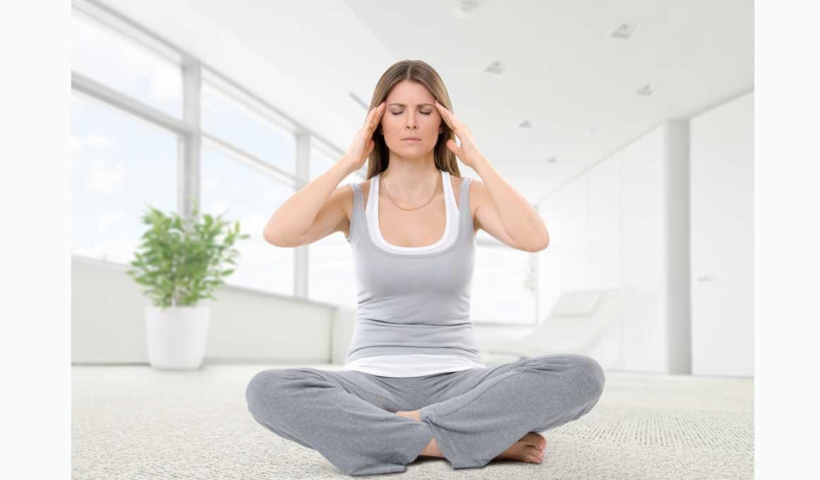 Alivia la migraña con Yoga