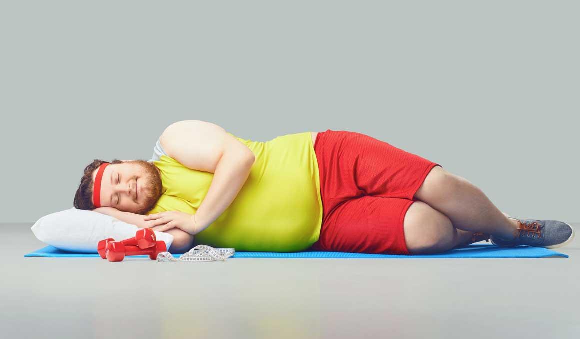 Cuidado, el exceso de peso puede causar problemas de sueño