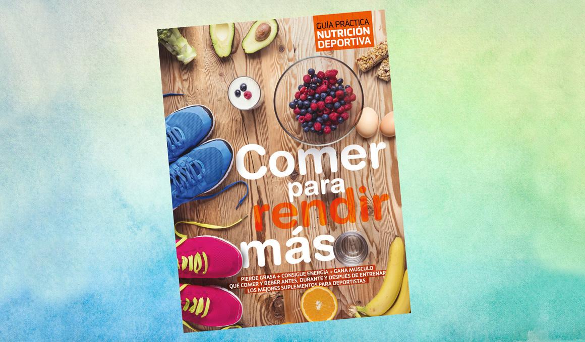 """Consigue gratis el libro """"Comer para rendir más"""""""