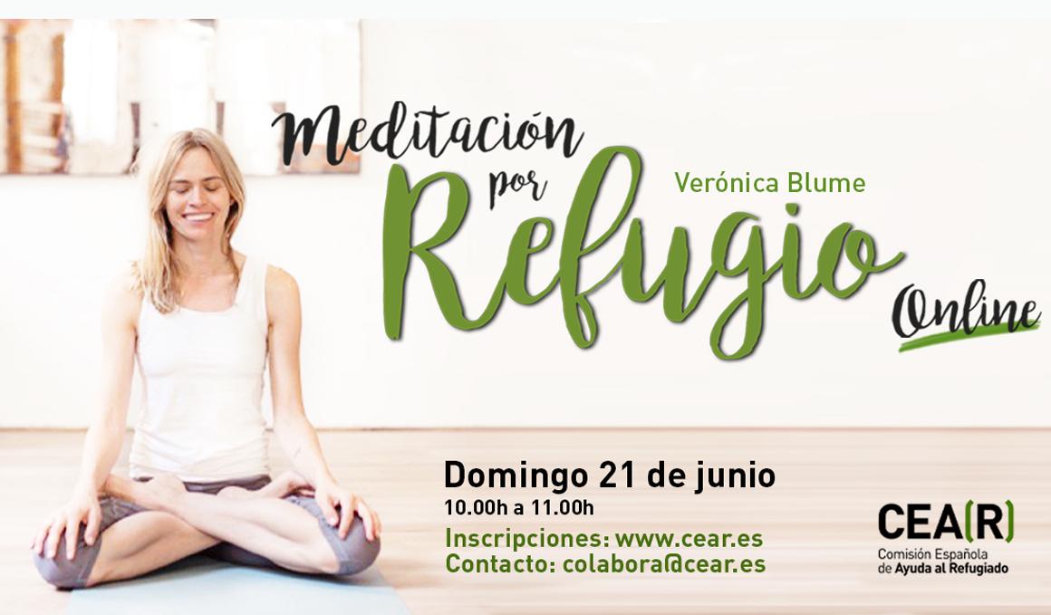 Meditación Online por Refugio Online con Verónica Blume