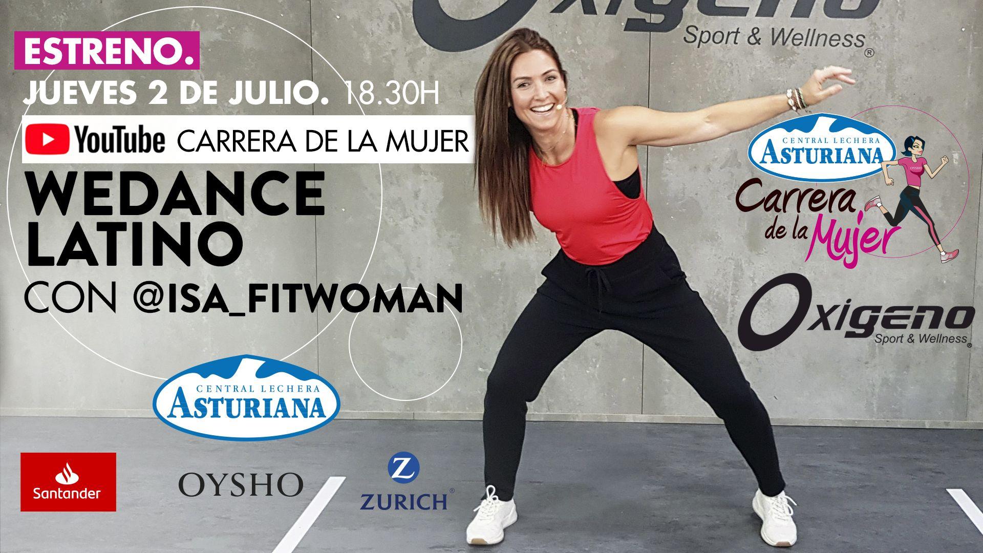 Únete a la clase de We Dance Latino
