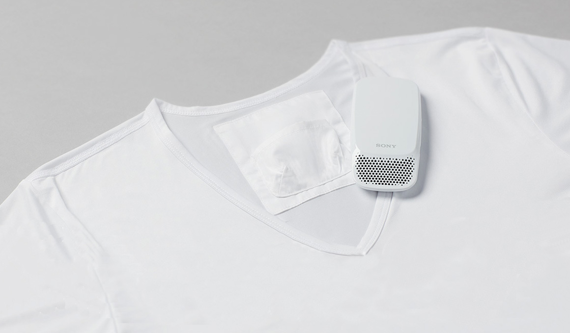 La camiseta con aire acondicionado de Sony