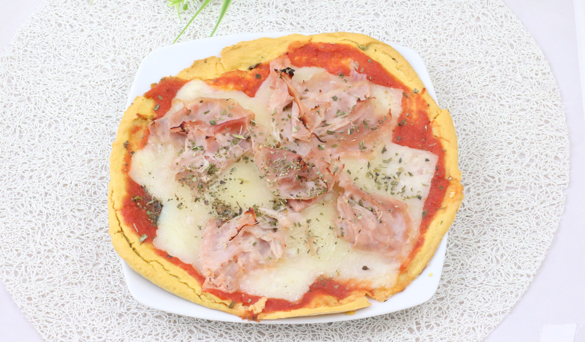 Pizza saludable sin harinas
