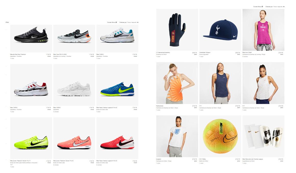 Nike presenta sus rebajas de verano 2020
