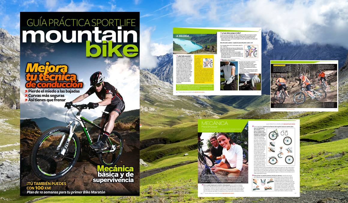 Descarga gratis la Guía Práctica del Mountain Bike