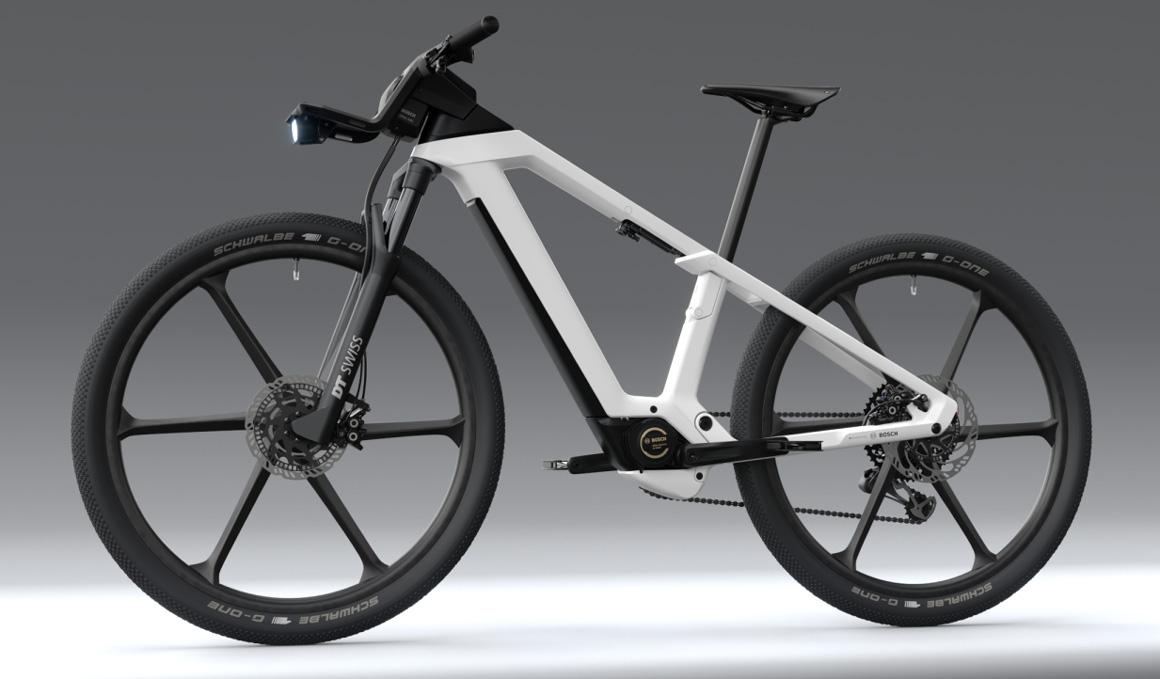 Así es la bici eléctrica Desing Vision de Bosch
