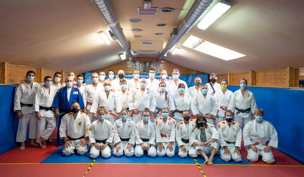 El combate del judo contra el Covid