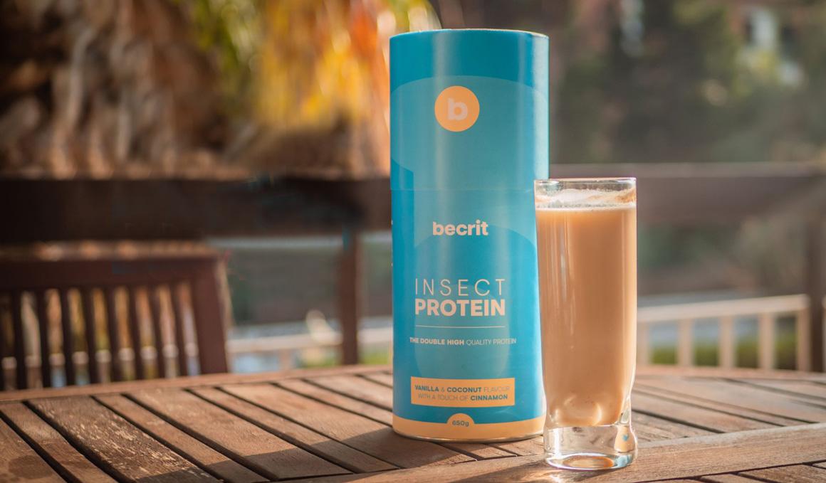 ¿Puede un batido de insecto darte más fuerza que uno de proteína tradicional?