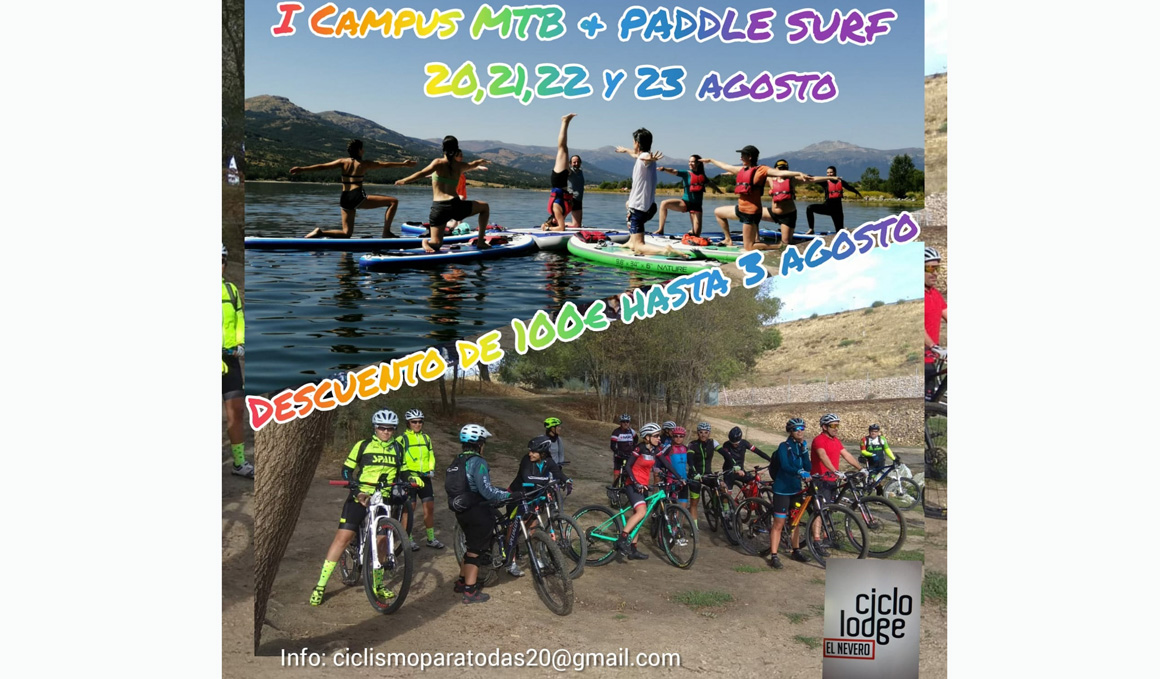 I Campus MTB y Paddle Surf para Mujeres en Lozoya, Madrid