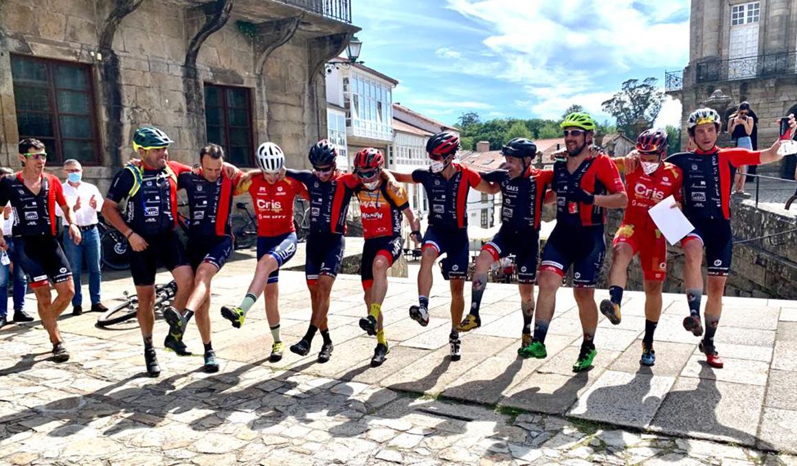 El Reto de El Camino de Santiago en bicicleta con El Motor de tus Pasos
