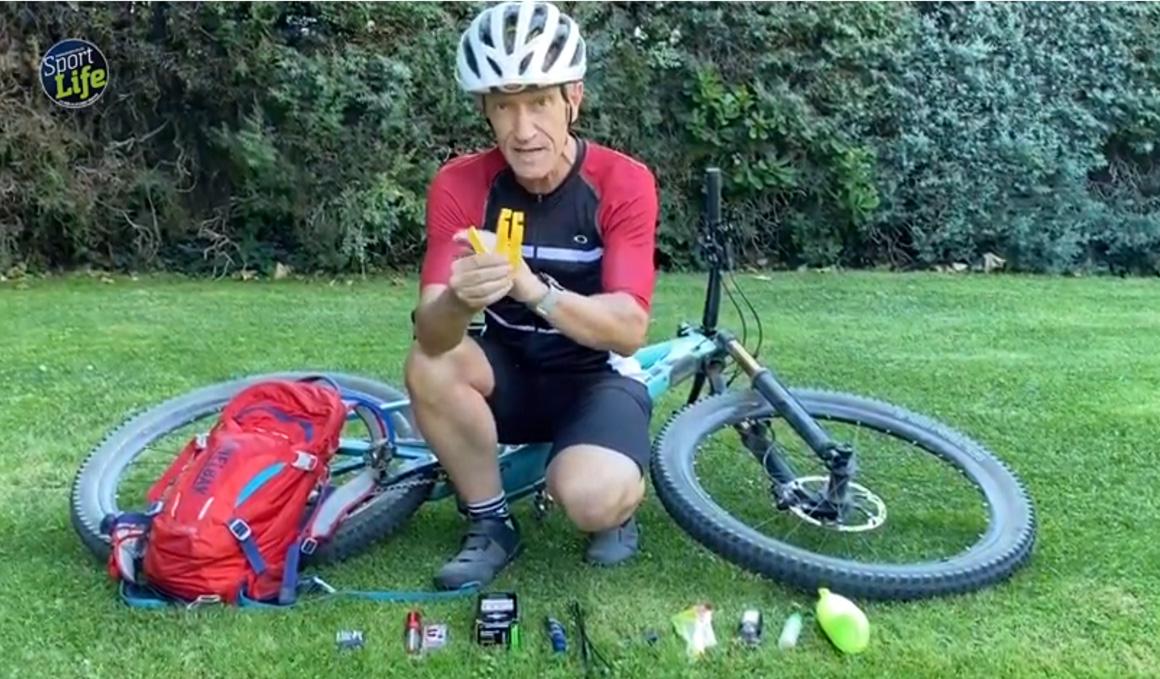 Lo que tienes que llevar en la mochila cuando vas en bici