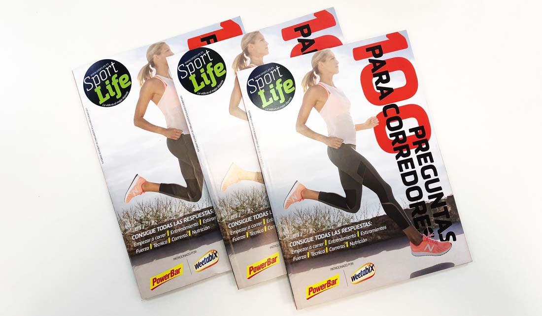 """¡Consigue gratis el libro """"100 preguntas para corredores""""!"""