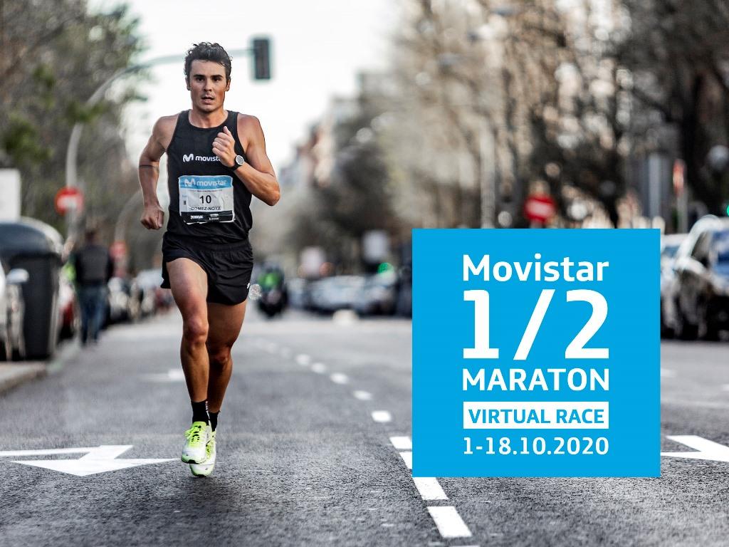 Inscripciones abiertas para el Movistar Medio Maratón Virtual