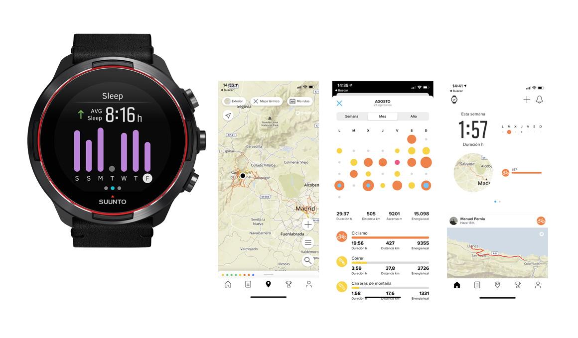 Suunto actualiza su app y potencia los mapas de calor