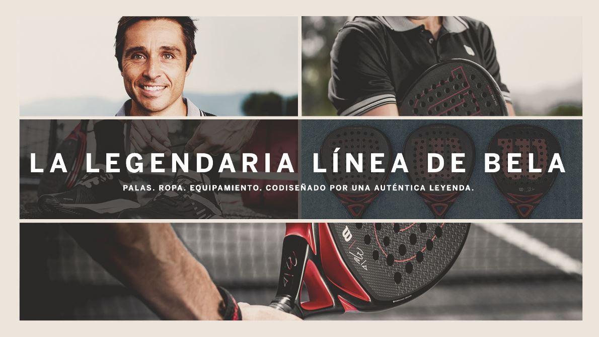 Wilson y Fernando Belasteguín presentan la nueva colección de pádel BELA