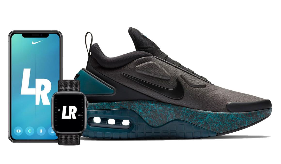 Las Nike que se ajustan con tu voz y que sus LED cambian de color
