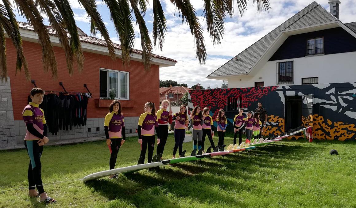 Apúntate a October Surf Fest, el primer festival de surf en Salinas-Naveces, Asturias