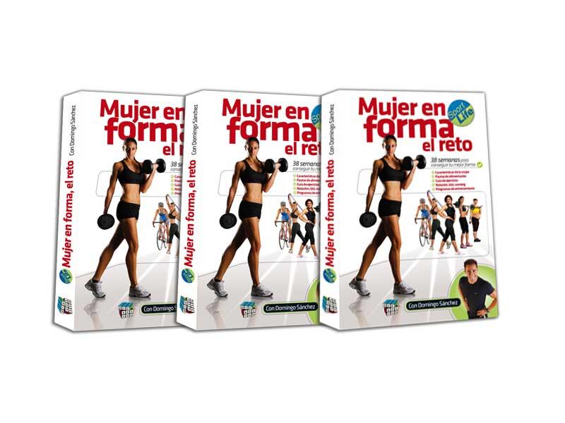 """""""Mujer en forma"""", el nuevo libro de Domingo Sánchez"""